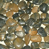 Pebble stone,striped polished pebbles