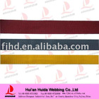 Colorful PP webbing tape