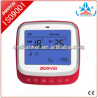2012 hot sales 7-day programmable thermostat for floor (warm-water) heating system of WSK-9D