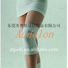 white bandage knee support
