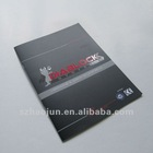 A4 size Saddle stitching company brochure with UV printing