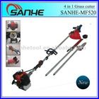 Hot Sell 2 stroke or 4 stroke 52cc multi-function 4 in 1 Grass cutter