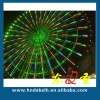 Colorful led circular tube use for decorating buliding