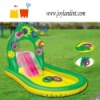 PVC beach inflatable slide