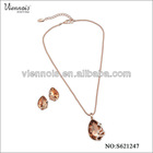 2013 Women Jewelry Set With Smoke Stone