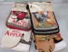 100% cotton oven mitt potholder kitchen towel set