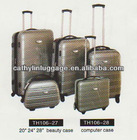 2012 hard luggage & 5pcs trolley luggage set &suitcase
