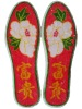 Chinese embroidery insoles