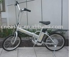 foldable lithium-ion electric bicycle with pedaling assistant system(PAS)