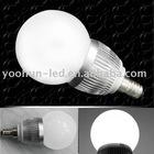 E14 3W 224LM White Led Globe Light Lamp Bulb 85-265v