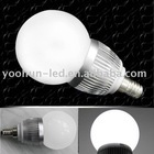 E14 3W 224LM White Led Globe Light Lamp Bulb 85-265v