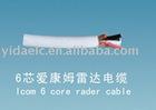 icom 6 core radar cable