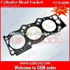 Diesel engine cylinder head gasket for Toyota Camry 2VZ(R) 11115-62030