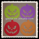 wholesale customized pumpkin Silicon coaster