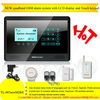 2012 New and Hot! Quadband wireless gsm alarm system 12v with LCD display and Touch keypad(YL007newM2BX)