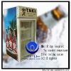 80L Glass Door Mini Refrigerator (CE, Rohs)