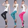women pants pockets embroidery design suit uniform wide leg and tops gym wear 2011 2012