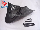 Fiber Glass Motorcycle black Bodywork Fairing belly pan lower cowl For Honda Monkey Bike Z50 Bike Z 50 Z50J Free shipping