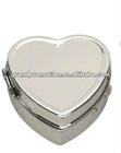 heart shape metal pill box(21084)