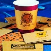 paper cup sleeves disposable, kraft paper cup sleeve (H-026)