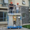 telescopic work platform folding working platform