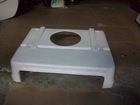 ABS material vacuum forming plastic air conditioning shell