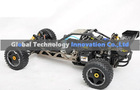 rc car gas 5B 23cc engine 1:5 scale, HR0218 with 2.4G Hz LCD transmitter