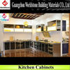 beautiful kitchen cabinet/acrylic countertop/wooden cabinet