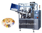 cosmetic filling and sealing machine m/c
