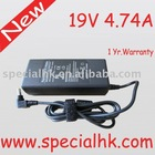 New 19V4.74A NOTEBOOK ADAPTER FOR TOSHIBA PA3516U-1ACA