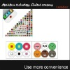 2012 new home button sticker for iphone 4 ipad ipod touch