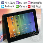 "Newest Model 9.7"" Tablet MID/Android 4.0/Cortex A9 1.5GHz/1GB RAM/8GB or 16GB HDD/Capacitive Screen/HDMI Output/Two Camera"