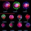LED Flash Aluminum Film Balloon