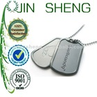 2012 New Cheap Metal Dog Tag with Chain