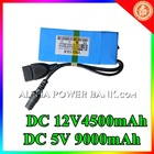 New arrival! 5v 9000mah ups maintenance free battery