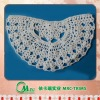 white neckline embroidery patch applique of garment accessories