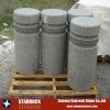 Natural stone driveway pillars