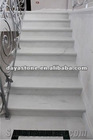 white granite step stone stairs