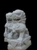 lion carving statue