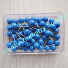 Clear Boxed Packed 6mm Color Decoration Round Map Pin