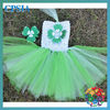 SALE 1layers tutu dress wuth match hair clip for girls parry dress