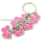 promotional butterfly metal keyring(KC-318)