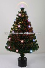 LED Fiber Optic Collapsible Christmas Tree