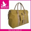 2012 zipper poly tote shoulder handbag golden fashion travel bag(BL53240TB)