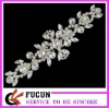 crystal rhinestone lace for sash