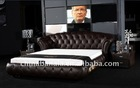 luxury furniture king size bed F8008