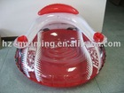 inflatable chair-36inch 0.65mm red color