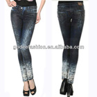 2013 Hotselling Lady Low Waist Boot Cut Denim Skinny Wholesale Fashion (Canyon River Blues)Girl's Jeans For Woman Tops Design