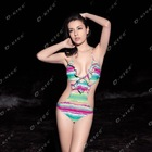 O-Kiss hot sexy wholesale one piece swimwear swimsuit factory