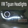 vw tiguan headlight